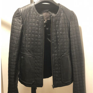 Joie Jackets & Coats - Joie Yetta Quilted Leather Jacket
